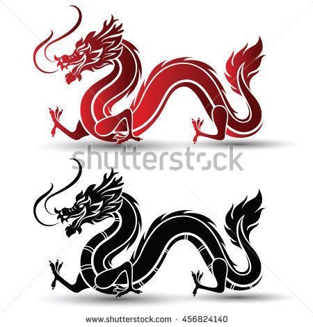 chinese dragon vector stock images royalty free images