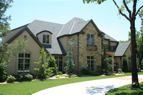 french country exterior design french country traditional exterior oklahoma city