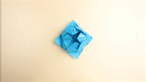 How To Make A Paper Lotus Step By Step - how to make a simple origami lotus flower 14 steps