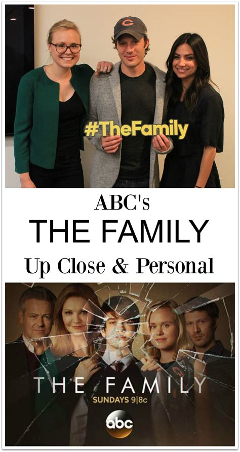 Last Week I Got Invited To The Premiere Of The H by Last Week I Got Up And Personal With Abc S The Family