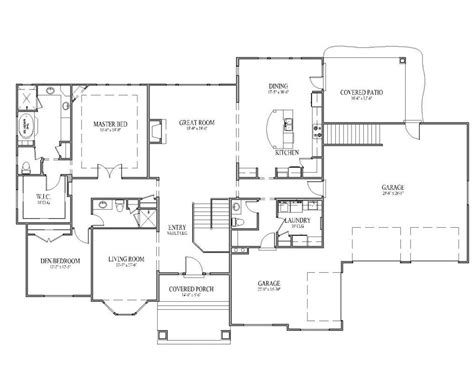 rambler house floor plans rambler house plans seattle home design and style