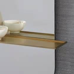 floating shelf wall mirror west elm