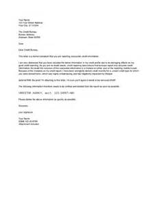 Template Letters To Creditors Initial Sample Letter To Credit Bureaus Hashdoc