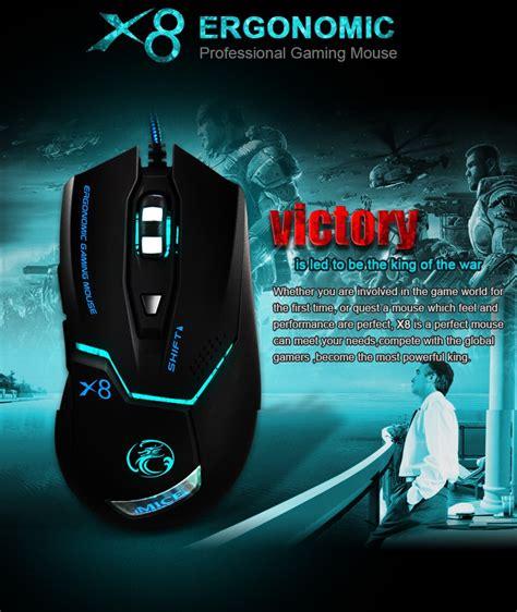 Barcode Scanner Yongli Xyl 8809 Black Berkualitas imice x8 gaming mouse ergonomic rgb led 3200dpi black