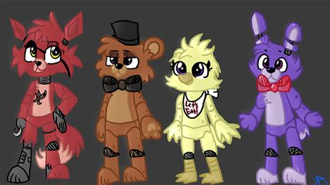 imagenes kawaii five nights at freddy s five nights at freddy s by bluemooonn on deviantart