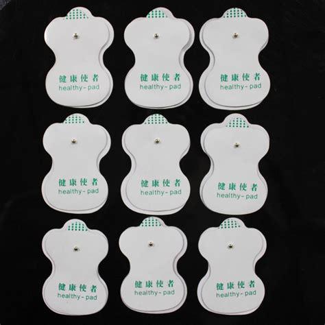 New White Quality Free Shipping 50pcs Lot 100 Cotton - freeshipping 50pcs lot quality white electrode pads