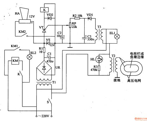 electric fence circuit diagram gt circuits gt electric fence circuit l51360 next gr