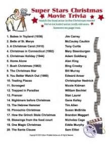 christmas trivia games printable christmas party game