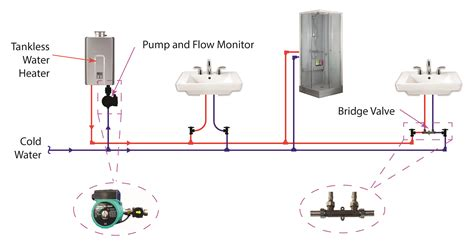 water heater circulating diagram tankless water heater recirculating water