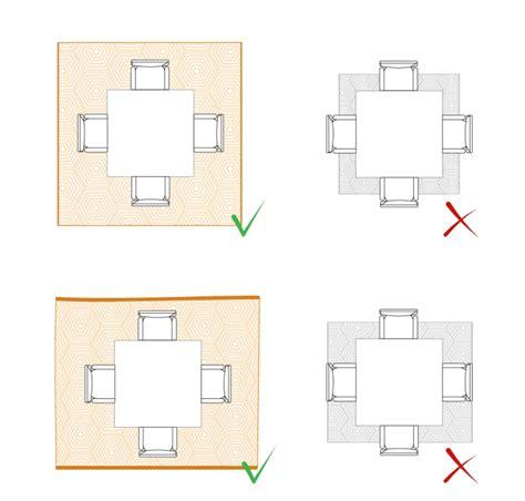 tappeti da tavolo come scegliere e posizionare un tappeto in salotto sala