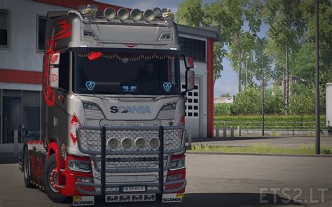 Best Color Interior by Griffin Metallic Scania S Skin Ets 2 Mods