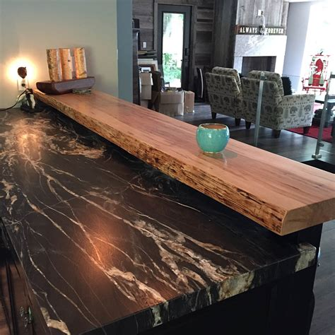 maple bar top custom maple floating bar top the wooden penny custom