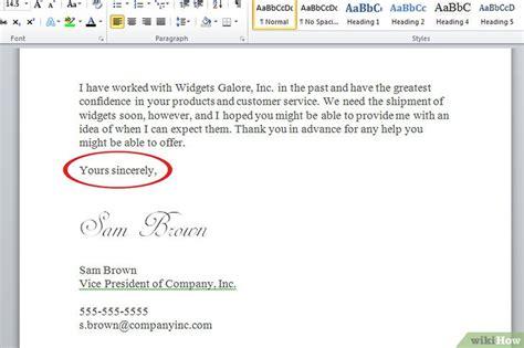 layout email engels een zakelijke brief schrijven wikihow