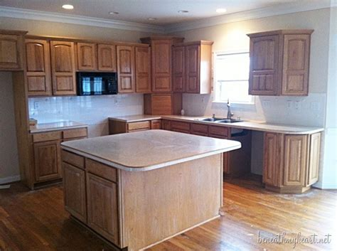 Paint My Kitchen Cabinets White by Painting Kitchen Cabinets White Beneath My Heart