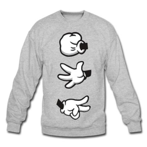 Sweater Logo Mickey Mouse Roffico Cloth sweater mickey mouse jumper wheretoget