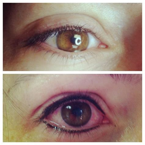 tattoo eyeliner before and after permanent makeup esthetician sarasota zen blossom sarasota