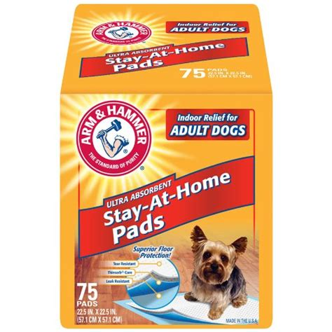 arm and hammer puppy pads arm and hammer ultra absorbent pads 75 count new free shipping ebay