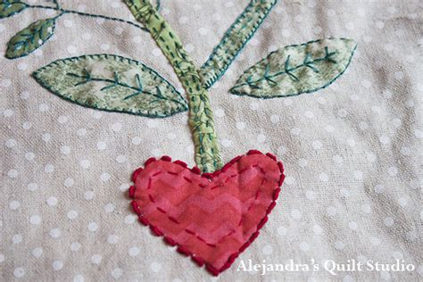 Patchwork And Applique - how to applique in patchwork alejandra s quilt studio