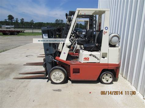 Nissan Warehouse by Nissan Forklift Warehouse 4000lb Propane