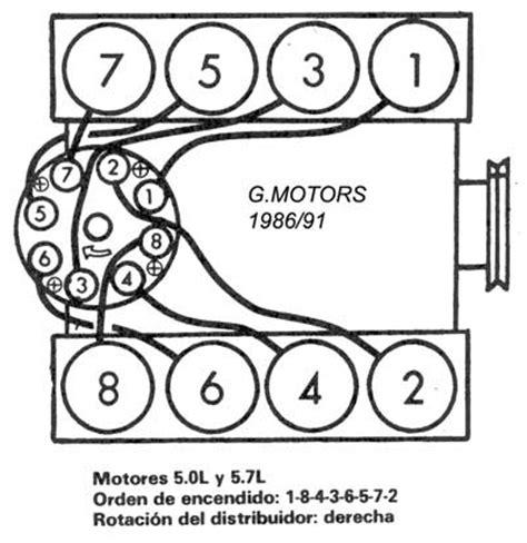 firing order chevy 350 distributor wiring diagram firing