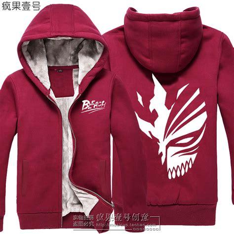 Hoodie Jaket Ichigo Kurosaki T Shirt Sweater Hoodies Eksklusif anime kurosaki ichigo jacket sweater hoodie zipper thicken coat ebay