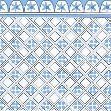 printable dolls house wallpaper dolls house blue victorian tile wallpaper scale 1 12