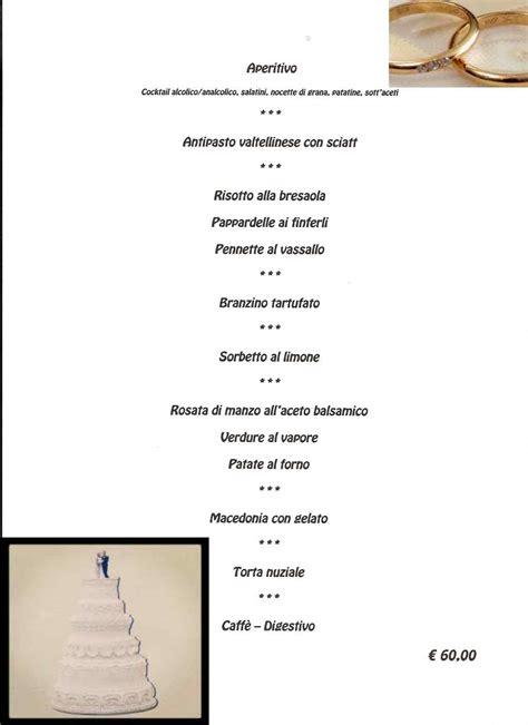 menu per banchetti 249