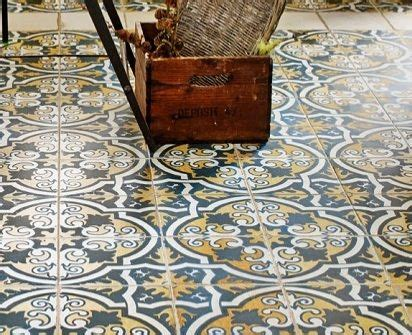 victorian pattern vinyl flooring coloured tiles can also be used to inject a mediterranean