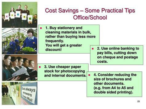 cost saving tips for a ppt ceist limited school finances challenging times