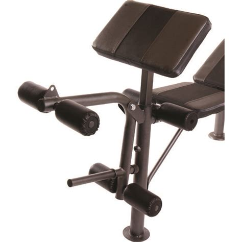 barbell bench set cap barbell combo bench with 80 lb weight set academy