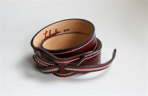 Handcrafted Leather Belt - buck less handmade leather belts moco loco submissions