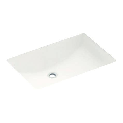Swanstone Undermount Sinks by Swanstone 19 In Rectangular Undermount Bathroom Sink In