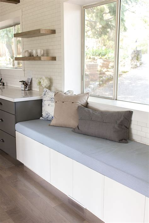 kitchen upholstered bench seating kitchen chronicles upholstered bench seating jenna sue