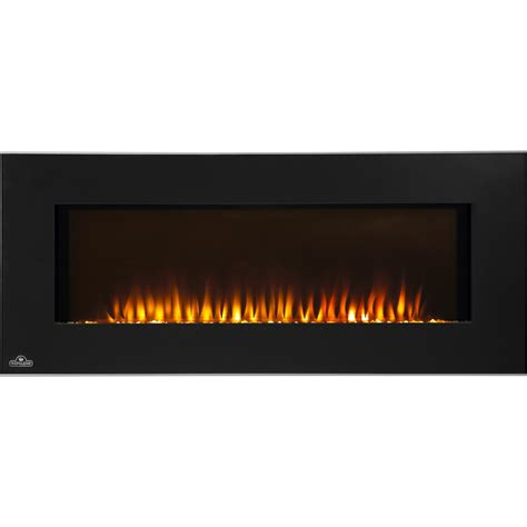 napoleon slimline 50 inch wall mount electric fireplace