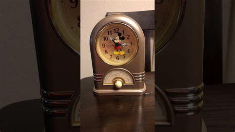 seiko  disney mickey mouse musical alarm clock youtube