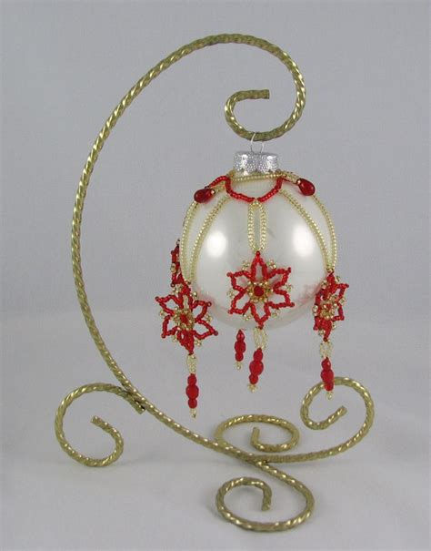 3737 best beaded christmas baubles images on pinterest