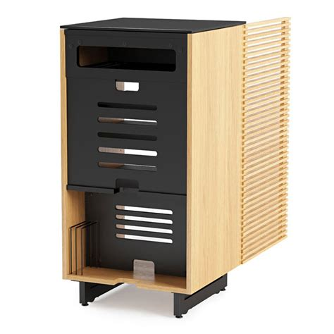 modern av furniture bdi corridor oak modern a v cabinet eurway furniture