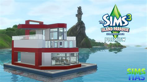 sims 3 island paradise boat house sims3 island paradise images house boat hd wallpaper and