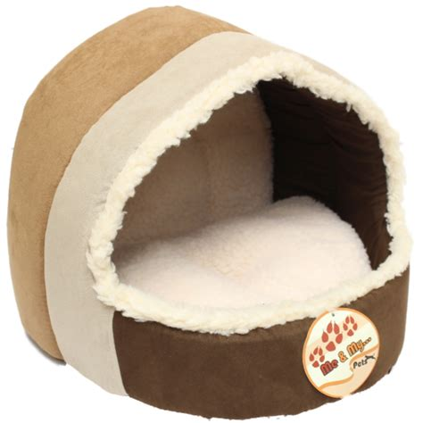 dog igloo bed me my luxury soft plush cat dog igloo pet bed warm house