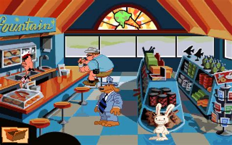 full dos games free download sam and max hit the road cd dos game