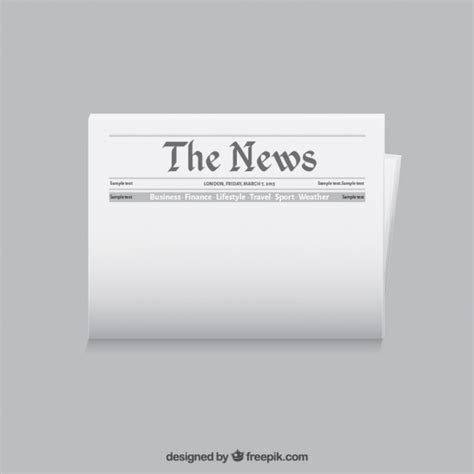 free templates for news newspaper template vector free