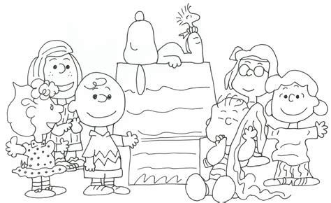 coloring book pages peanuts free charlie brown snoopy and peanuts coloring pages