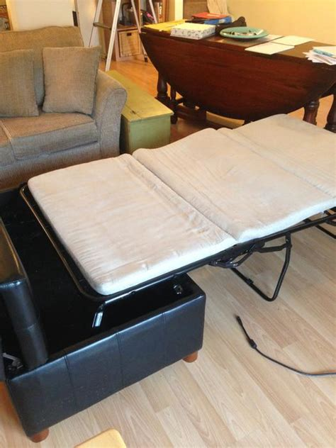 ottoman with twin bed inside large ottoman that opens into a twin bed victoria city