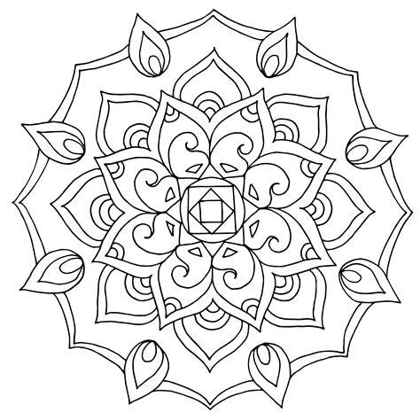 Muster Mandala Vorlagen sch 246 nes muster mandala zum ausmalen