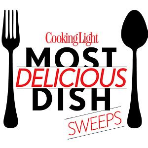 Cooking Light Sweepstakes - delicious dish sweeps main cooking light