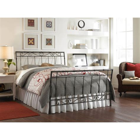 Size Metal Bed Headboard And Footboard Size Metal Bed With Headboard And Footboard In