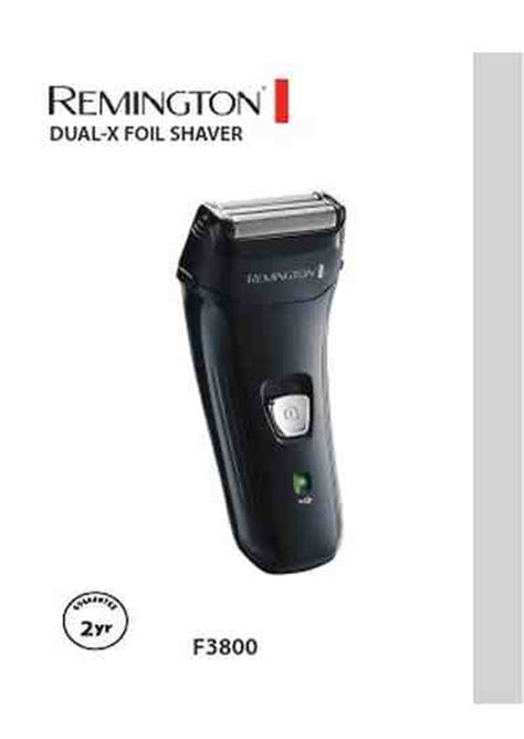 remington f3800 electric shaver razor manual for free now 386ef u manual