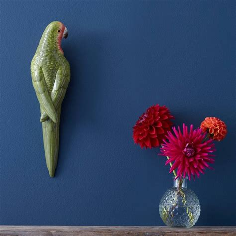 parrot wall decor tropical parrot wall by the contemporary home