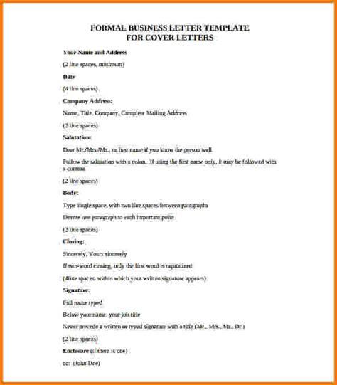 template for informal business letter formal business letter format pdf financial statement form