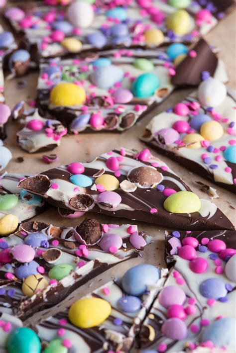 easter chocolate easter candy bark the sweetest occasion